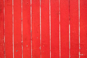 Hintergrund rot angemalte Holzwand