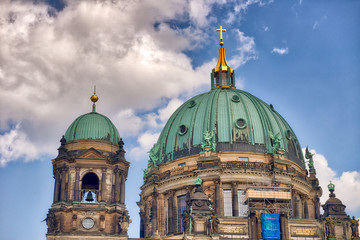 Wall Mural - Berlin Cathedral on a beautiful sunny day