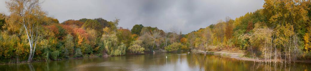 overcast autumn day