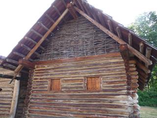 Keltisches Holzhaus
