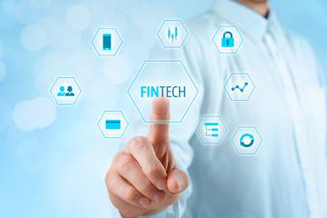 Fintech and financial technology.