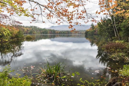Calm Morning on Waterbury Reservoir