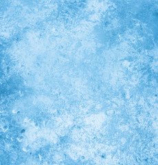 Background page design for a photo book, scrapbook or wallpaper in sky blue; abstract stone textures