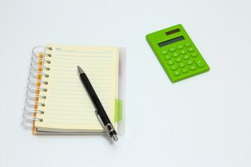 ノートとペン Notebook and pen