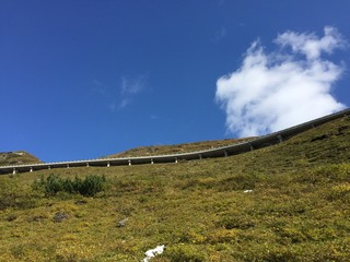 view of Grossglockner High Alpine Road