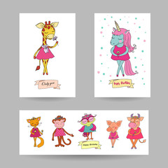 3 lovely cards for Valentine's Day