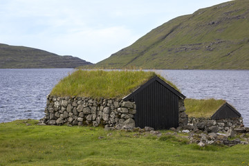 Traditional houses on the Faroe Islands
