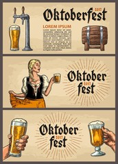 Beer tap. Vintage vector engraving illustration for web, poster, invitation to beer party.