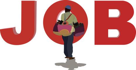extracomunitario commercia borse per lavoro
