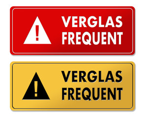 Frequent Ice warning panels in French translation