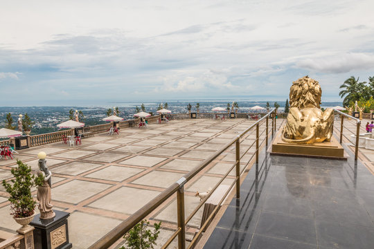 View from the Temple of Leah in Cebu city Philippines