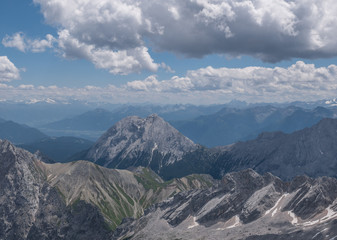 The mountains of Alps in Tyrol, Austria