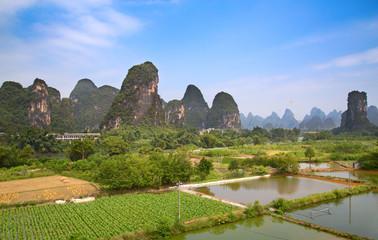 Poster de jardin Guilin Li River