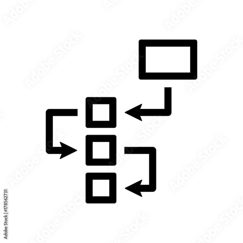 Flowchart Icon Stock Image And Royalty Free Vector Files On Fotolia