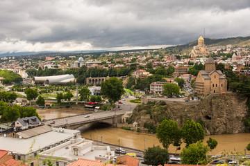 Georgia, city Tbilisi, general view