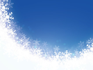 Christmas snowflakes light background. Vector illustration Eps 10.