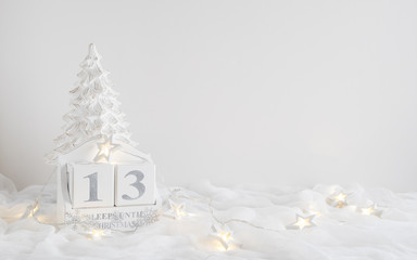 Christmas calendar - 13 sleeps until christmas
