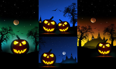 Halloweenplakate