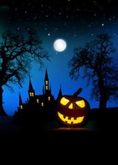 Wall Mural - Halloween Plakat