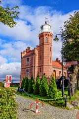 Leuchtturm Ustka Westpommern Ostsee
