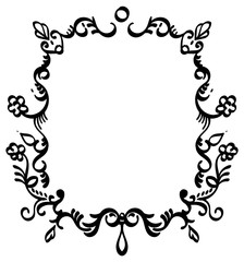Rectangle Filigree Frame