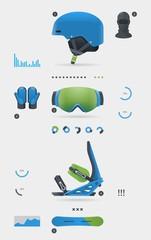 Snowboarding elements