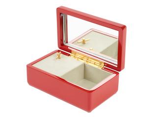 Red music box