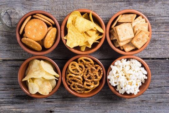 Mix of snacks