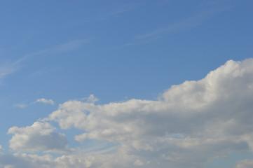Clouds on blue cky 1