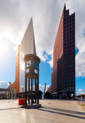 The Potsdamer Platz in Berlin