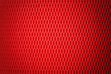 Abstract red ribbon texture background.