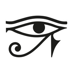 Egypt eye. Vector.