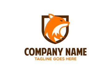 unique fox logo