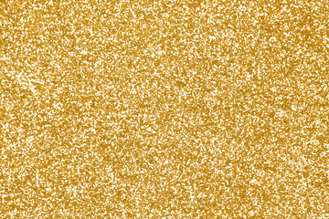 Gold glitter texture or golden sparkle background