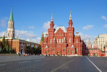 Москва. Исторический музей на Красной площади.