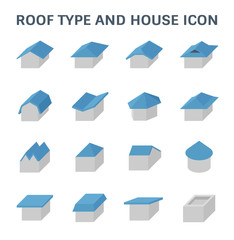 roof type icon