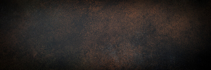 Empty rusty stone or metal surface texture. Wall mural