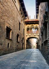 Barcelona - Barri Gothic street, nobody