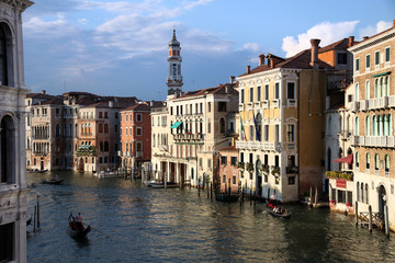 View of Canal Grande from the Rialto Bridge