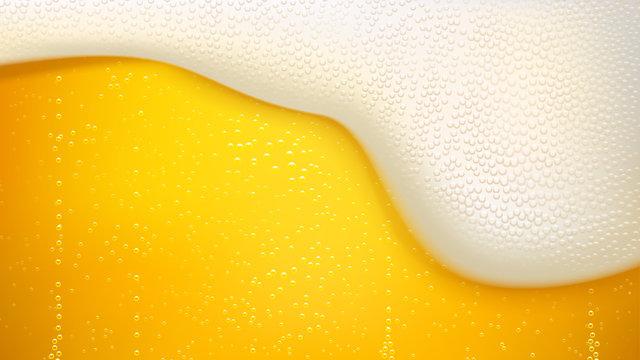 lager beer background
