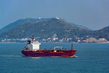 Vietnamese oil products tanker.