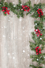 Christmas decorative wallpaper