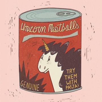 Unicorn meatballs