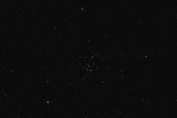 Praesepe in Cancer constellation (star cluster M44)
