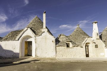 Foto op Plexiglas Historisch geb. Arbelobello Italy - Classical Trulli houses