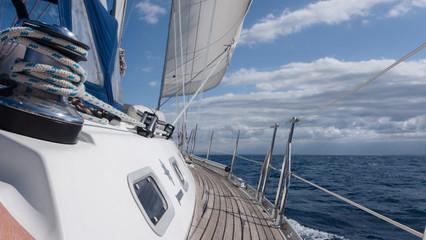Fototapete - Segelschiff Steuerbordseite