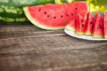 watermelon as sweet dessert