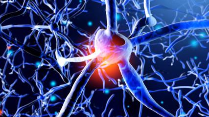 Neuron Cells building a neural network