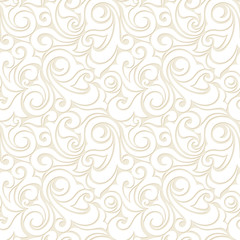 Vector abstract beige seamless pattern.