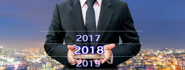 Communication technology business 2018 Happy New Year